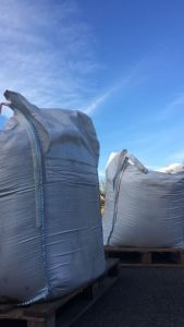 Two large bags of top soil