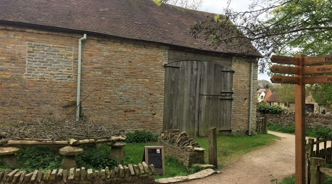 Mary Arden's farm, Wilmcote, near Stratford-upon-Avon, Warwickshire