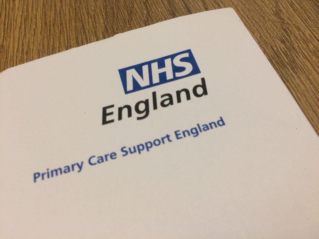 NHS England letterhead