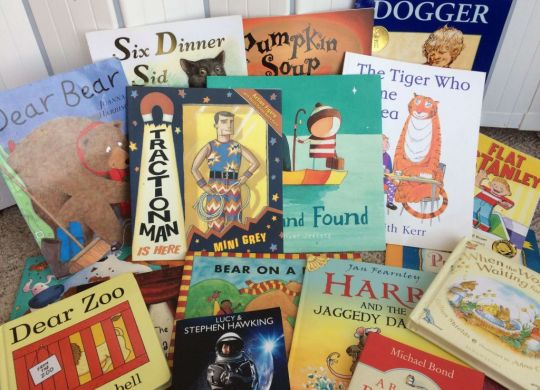 A selection of children's fiction books