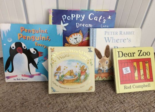 Fiction books for 0-1 year olds