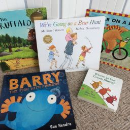 Fiction books for 1-2 year olds