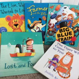 Fiction books for 2-3 year olds