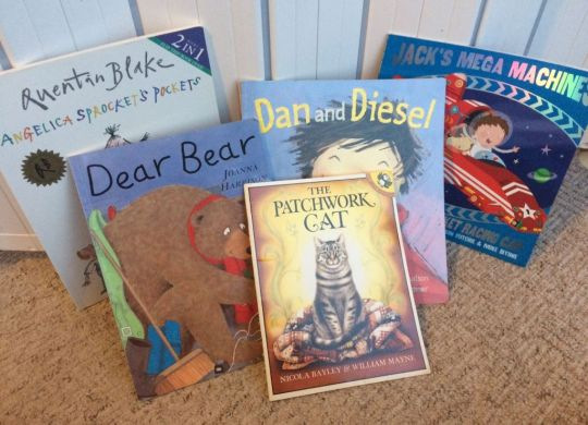 Fiction books for 3-4 year olds