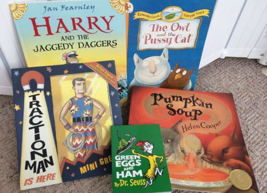 Fiction books for 4-5 year olds
