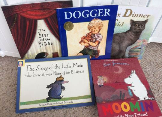 Fiction books for 5-6 year olds