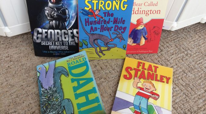 Fiction books for 6-7 year olds