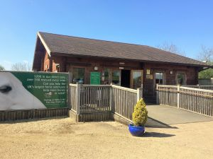 The entrance to Redwings Horse and Donkey sanctuary in Oxhill