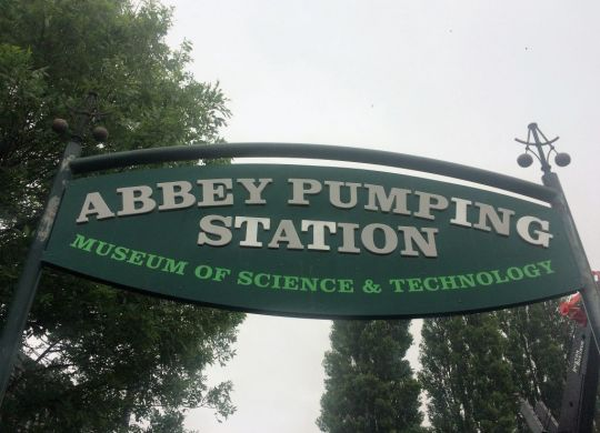 Abbey Pumping Station entrance