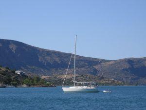 Boat in Crete