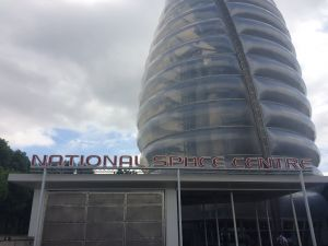 Entrance to the National Space Centre