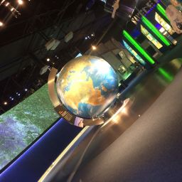 Inside of the National Space Centre