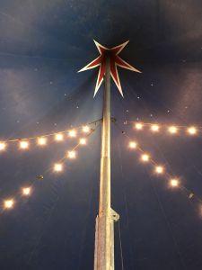 Inside the big top at Zippos Circus