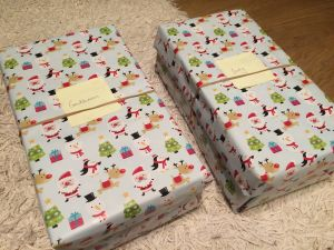 Christmas boxes for the homeless