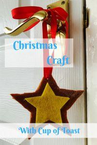 Handmade Christmas Star - Cup of Toast