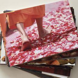Mindfulness Gift feet card
