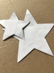 Paper star templates