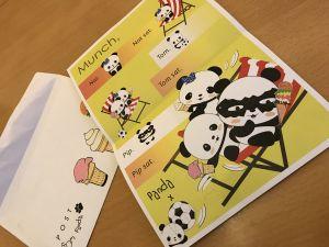 Panda Post letter