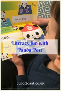Literacy fun with Panda Post