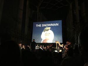 The Snowman Tour performance