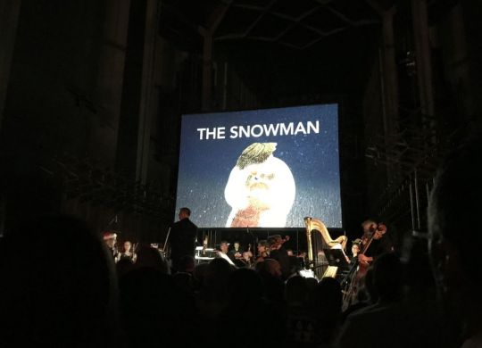 The Snowman Tour performance