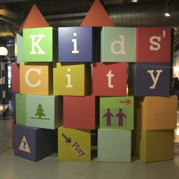 Kids' City entrance at the Thinktank