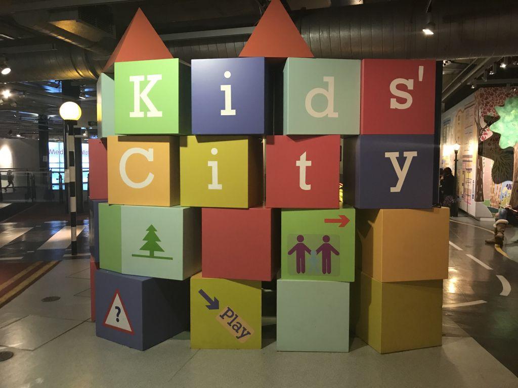 Kids' City entrance at the Thinktank