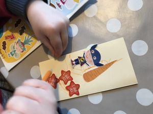 Bookmark being drawn
