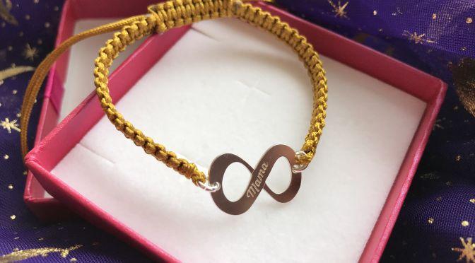 Mama Infinity Bracelet