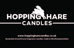 Hopping Hare Candles Logo