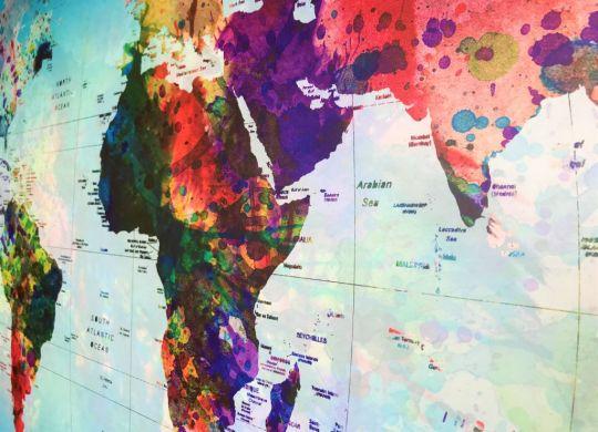 Posterlounge World Map