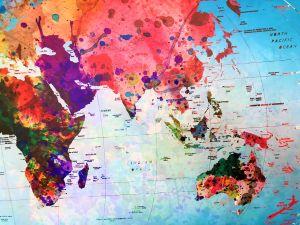 World Map Posterlounge