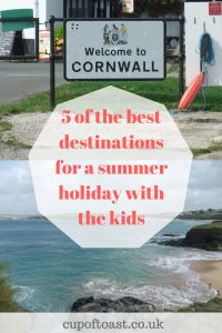 5 of the best destinations for a summer holiday with the kids
