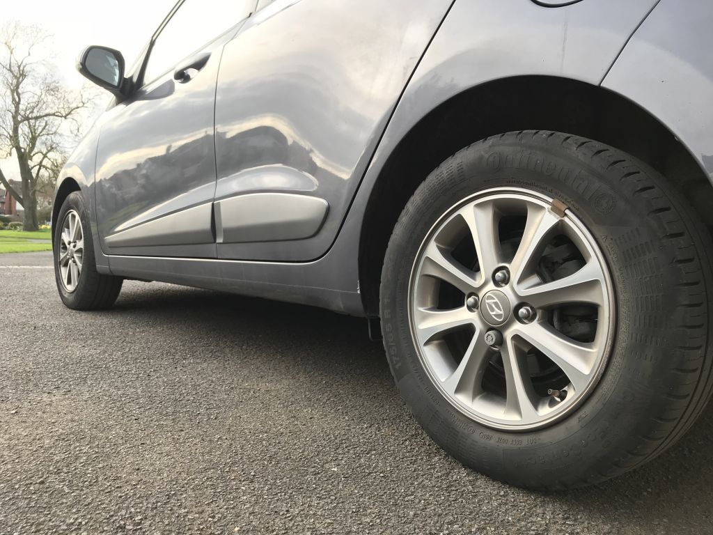 Hyundai wheels