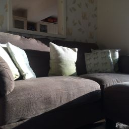 Light on sofa