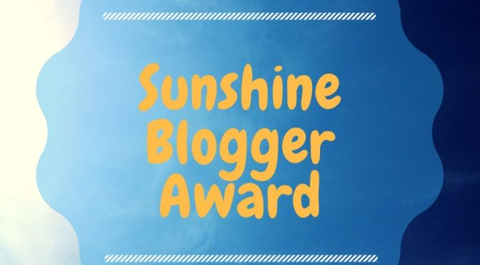 Sunshine Blogger Award Cup of Toast