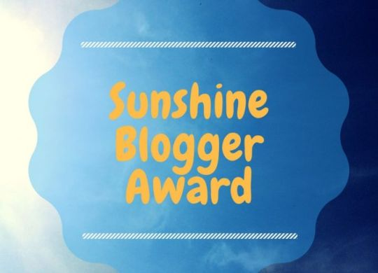 Sunshine Blogger Award Cup of Toast