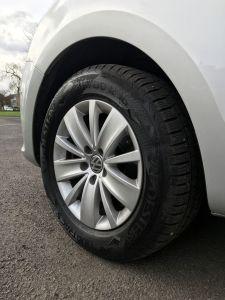 VW car wheel
