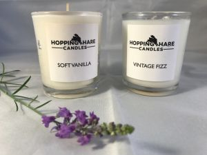 Hopping Hare essential oil candles