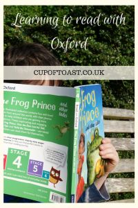 Learning to read with Read with Oxford and Progress with Oxford