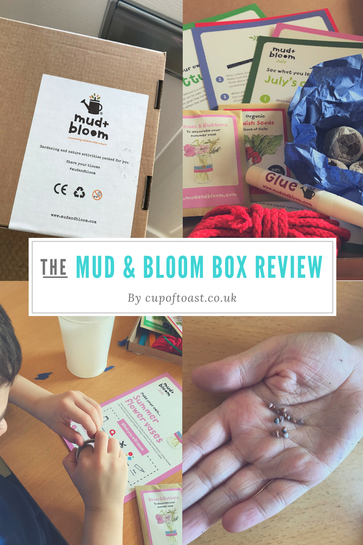 Mud & Bloom box review by Cup of Toast
