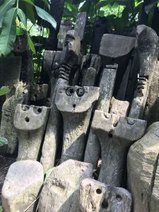 Faces at the Eden Project