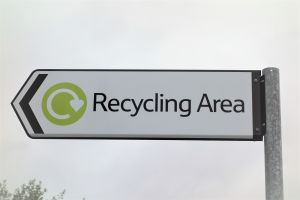 Recycling area