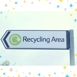 Recycling area cover