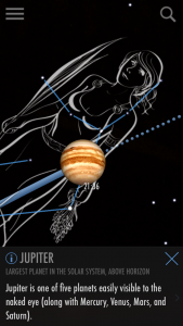 Planets in the sky