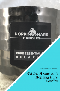 Getting Hygge with Hopping Hare Candles and Cup of Toast