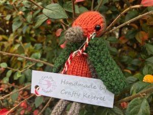 Crafty Kestrel Robin