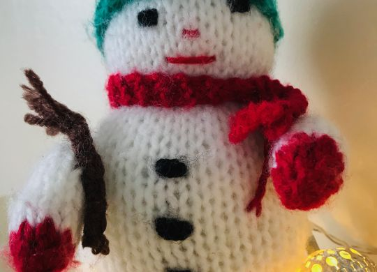 Woolly snowman