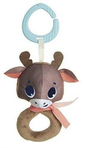 Reindeer rattle toy
