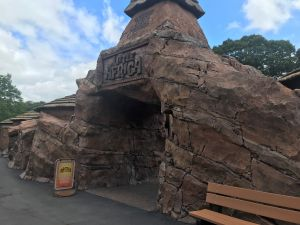 The entrance to Little Africa at Paultons Park